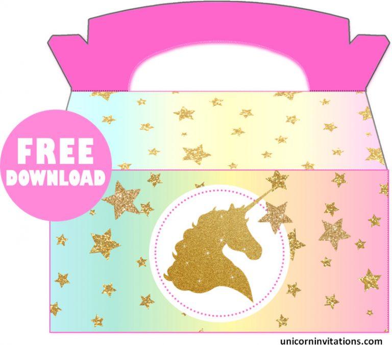 Free Unicorn Birthday Box